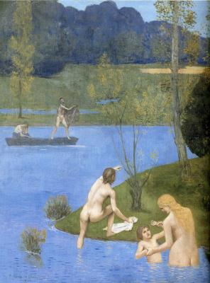 Pierre Cecil Puvi de Chavannes. Bathing