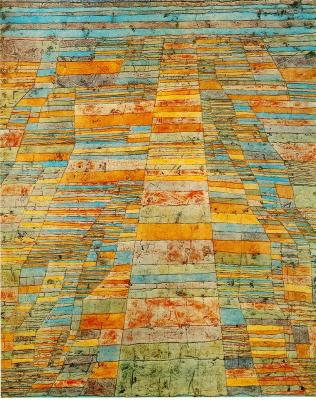Paul Klee. Highway and alleys