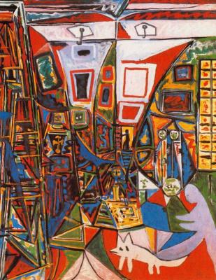 Pablo Picasso. Las Meninas. Interpretation No. 24