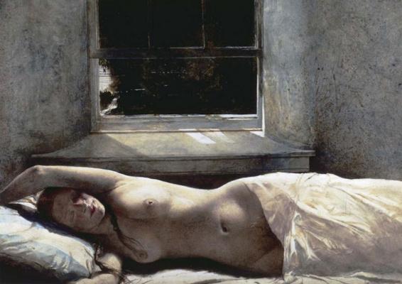 Andrew Wyeth. Overflow