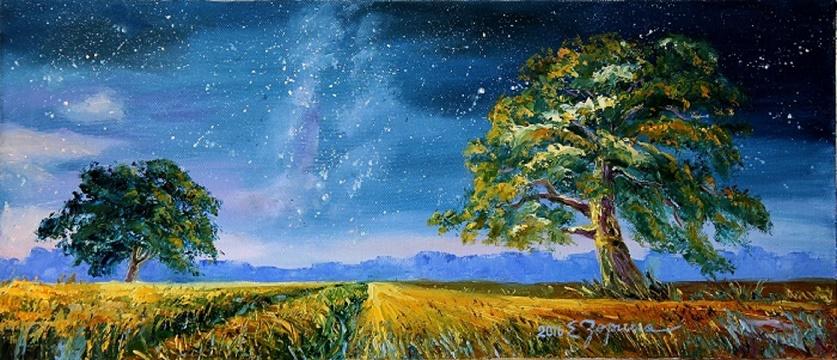 Elena Nikolaevna Zorina. Milky Way