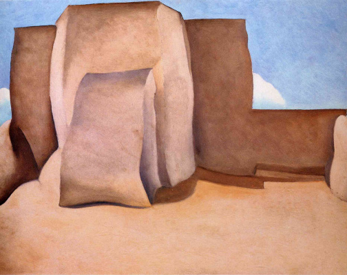 Georgia O'Keeffe. The Church Of St. Francis Of Assisi, New Mexico