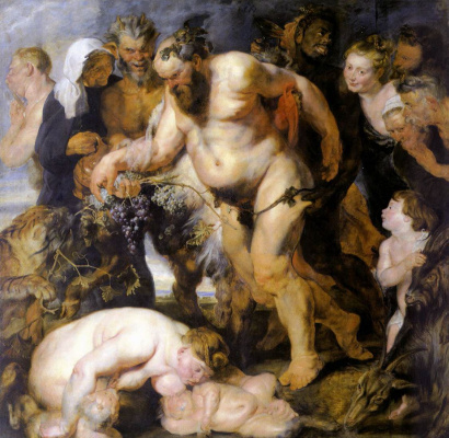 Peter Paul Rubens. Drunken Silenus