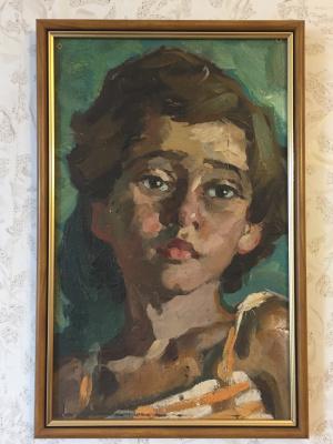 Петр Дмитриевич Вольский. Портрет дочери