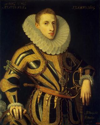 Juan Pantoja de la Cruz. Portrait of Diego de Villamayor