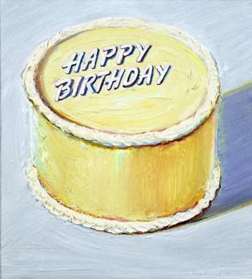 "Wayne Thibaut. Cake ""Birthday"""
