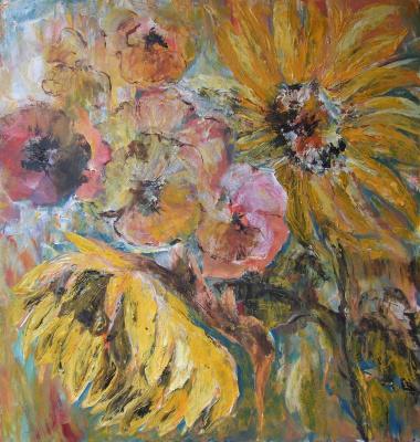 Galina Shevtsova. Sunflowers