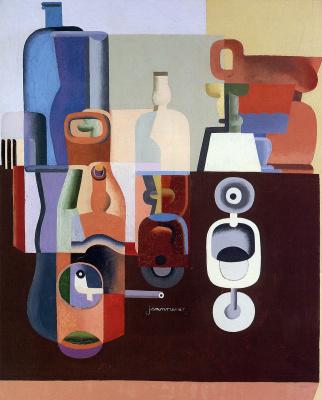 Le Corbusier. Still life with a book