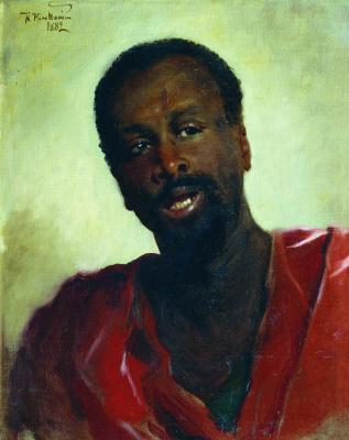 Konstantin Makovsky. African