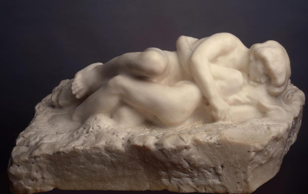Auguste Rodin. Cupid and Psyche