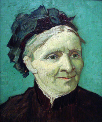 Vincent van Gogh. Portrait of the artist's mother