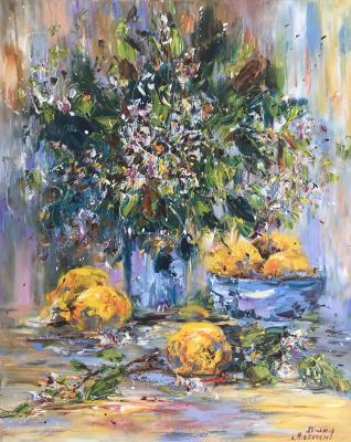 Диана Владимировна Маливани. Lemons. Still Life