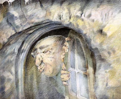 Дэвид Йоргенсен. Окно