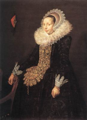Frans Hals. Portrait of Katharina van der Bose Them