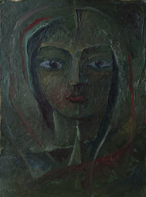 Anatoly Vasilievich Smagin. Female face