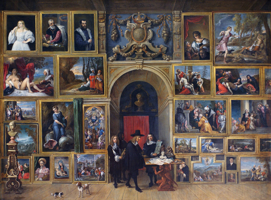 David Teniers the Younger. Gallery of Archduke Leopold Wilhelm of Austria in Brussels