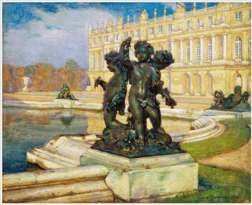 Einar Wegener (Lily Elbe). Versailles