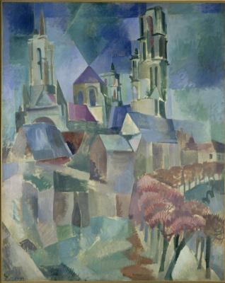 Robert Delaunay. Les Tours de Laon