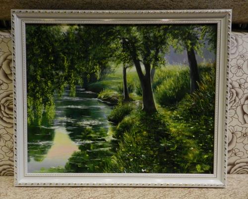 Dmitry Vladimirovich Veklich. By the river