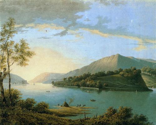 Йозефус Книп. Речной пейзаж