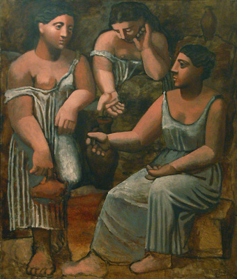 Pablo Picasso. Three women at the source