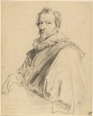 Anthony van Dyck. Portrait of Hendrik van Balena