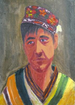 Алишер Туйчиевич Эрназаров. Guy in the cranial hat