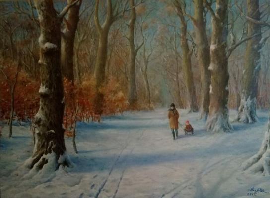 Evgeny Yurievich Miroshnik. Walk in the old park
