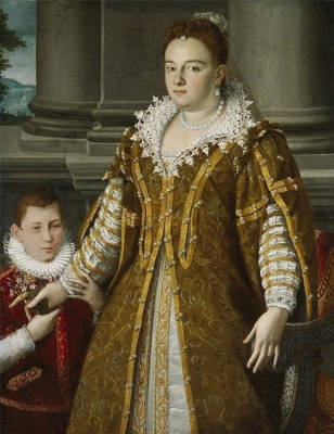 Alessandro Allori. Portrait Of Bianca Cappello