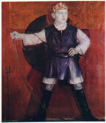 Портрет Романа Кричевского, сына художника. 1925