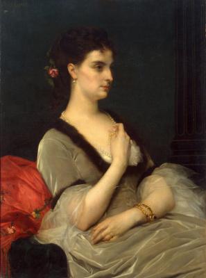 Alexandre Cabanel. Portrait of Countess Elizabeth Vorontsova-Dashkova