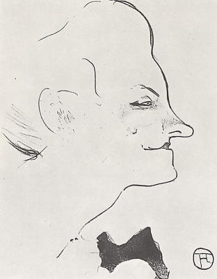 Henri de Toulouse-Lautrec. Yvette Guilbert