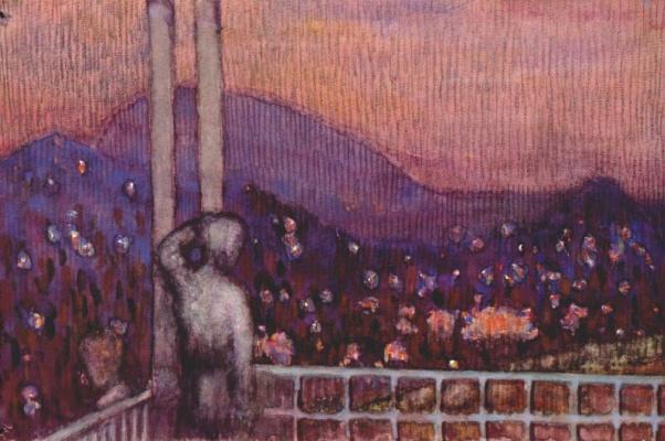 Ivan Vasilyevich Klyun. Plot 3