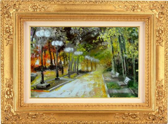 Ivan Alexandrovich Dolgorukov. Autumn alley