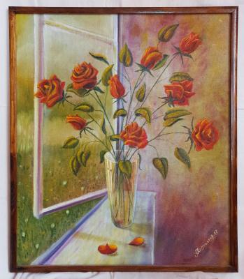 Alik Khazgaleev. Roses