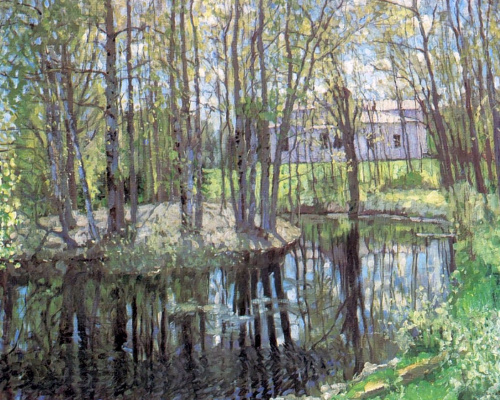 Stanislav Yulianovich Zhukovsky. The old HOMESTEAD. May