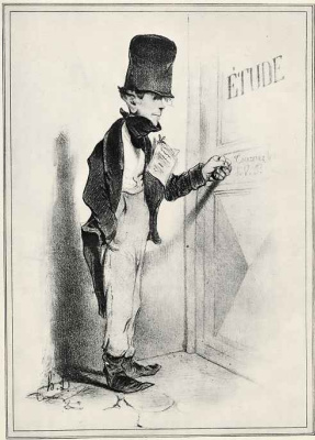 Honore Daumier. The student -jurist