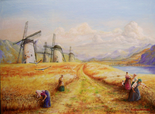 Andrey Domanin. The HARVEST is 3
