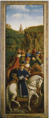 Hubert van Eyck. Gents altar. Righteous Judges (fragment)