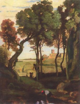 Camille Corot. Castelgandolfo