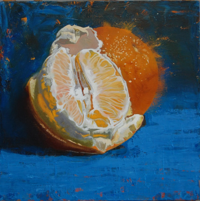 Alexander Giza-Ciobanu. Two oranges
