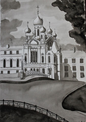 Varvara Nikolaevna Ivanova. Isidorov Church in St. Petersburg