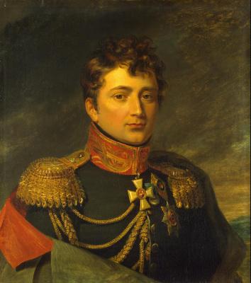 George Dow. Portrait of Emmanuel Frantsevich (Emmanuel) de Saint-Prix