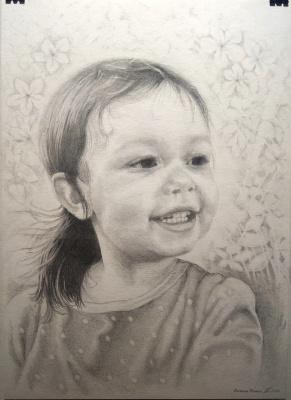 Natalia Moshina-Turusinova. Childhood happiness