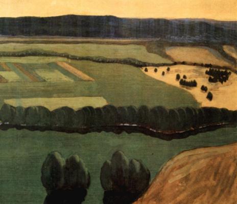 Mikalojus Konstantinas Ciurlionis. Raigardas. Triptych
