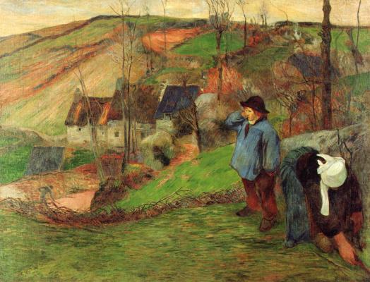 Paul Gauguin. Breton shepherd