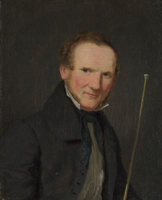 Кристен Кёбке. Портрет Вильгельма Бендза