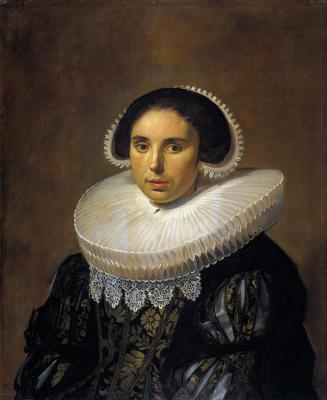 Frans Hals. Portrait of Sarah van Diemen Wolferts