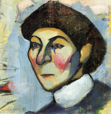 Sonia Delaunay. Portrait Of Philomena