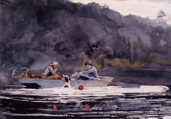 Winslow Homer. The end of the hunt